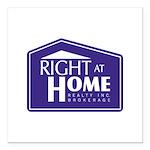RAH Company Logo Square Car Magnet 3