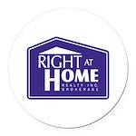 RAH Company Logo Round Car Magnet