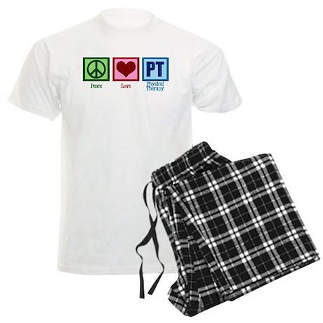 Peace Love PT Men's Light Pajamas