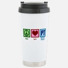 Peace Love PT Stainless Steel Travel Mug