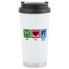 Peace Love PT Travel Mug
