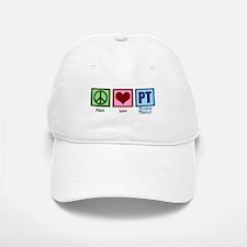 Peace Love PT Baseball Baseball Cap