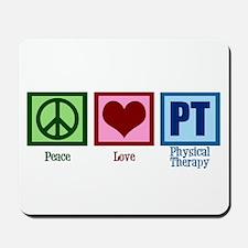 Peace Love PT Mousepad