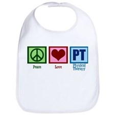 Peace Love PT Bib