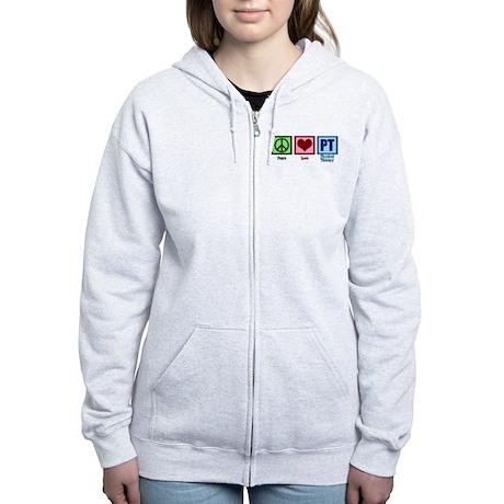 Peace Love PT Women's Zip Hoodie