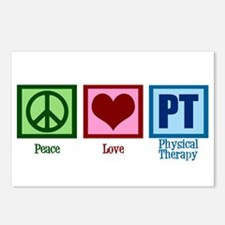 Peace Love PT Postcards (Package of 8)