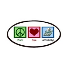 Peace Love Accounting Patches