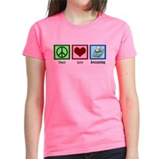 Peace Love Accounting Tee