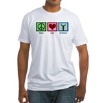 Peace Love Orchestra Fitted T-Shirt