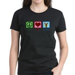 Peace Love Orchestra Women's Dark T-Shirt