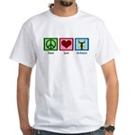 Peace Love Orchestra White T-Shirt