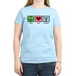 Peace Love Orchestra Women's Light T-Shirt