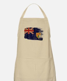 Turks and Caicos Flag Apron