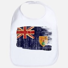 Turks and Caicos Flag Bib