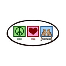 Peace Love Cheetahs Patches