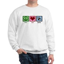Peace Love Spiders Sweatshirt