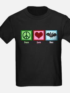 Peace Love Bats T