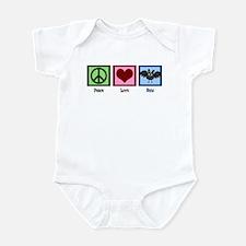 Peace Love Bats Infant Bodysuit