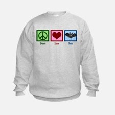 Peace Love Bats Sweatshirt