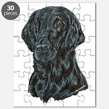 Flat Coated Retriever Puzzle
