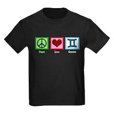 Peace Love Gemini T