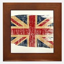 United Kingdom Flag Framed Tile