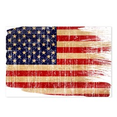 United States Flag Postcards (Package of 8)
