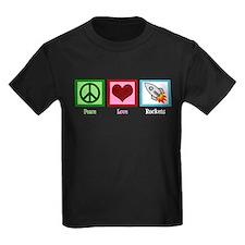 Peace Love Rockets T
