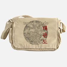 The meaning of TKD Messenger Bag