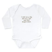 Cute Archaeology Long Sleeve Infant Bodysuit