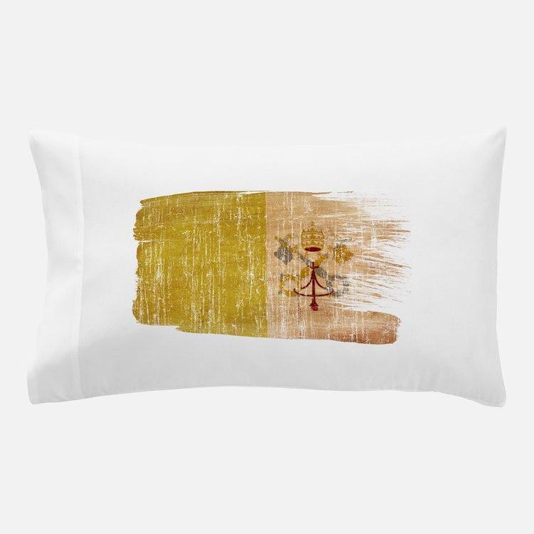 vatican city painttex3-paint aged copy.png Pillow
