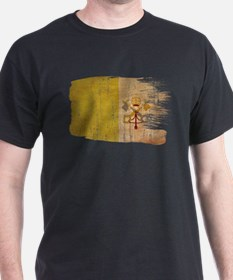 vatican city painttex3-paint aged copy.png T-Shirt