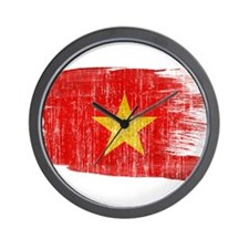 Vietnamtex3-paint style aged copy.png Wall Clock