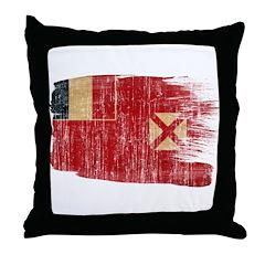 Wallis and Futuna Flag Throw Pillow
