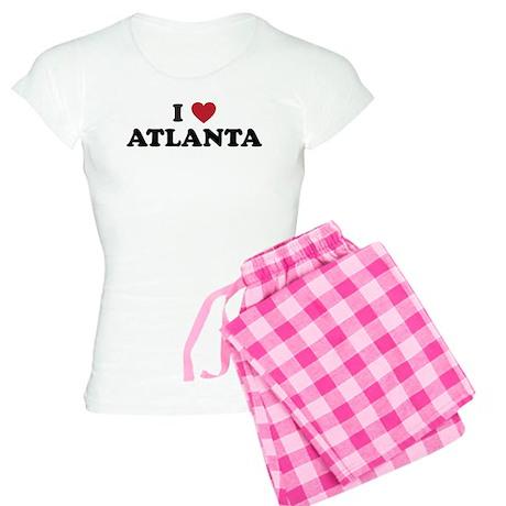 I Love Atlanta Georgia Women's Light Pajamas