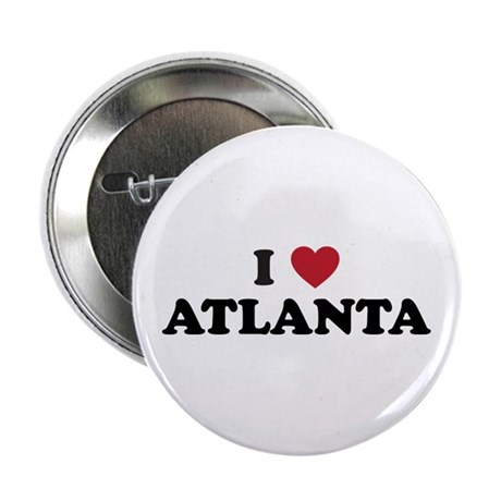 "I Love Atlanta Georgia 2.25"" Button"