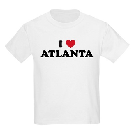 I Love Atlanta Georgia Kids Light T-Shirt