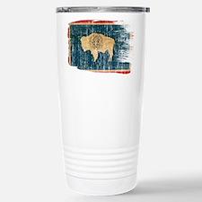 Wyoming Flag Travel Mug