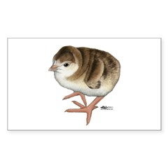 Bourbon Red Poult Decal