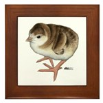 Bourbon Red Poult Framed Tile