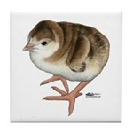 Bourbon Red Poult Tile Coaster