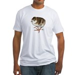 Bourbon Red Poult Fitted T-Shirt