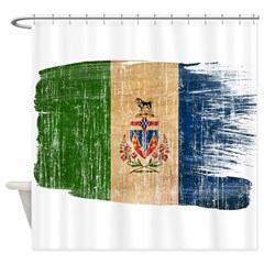 Yukon Territories Flag Shower Curtain