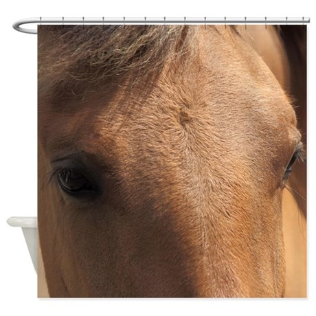 Eye of a Horse Shower Curtain