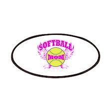 Softball mom Patches