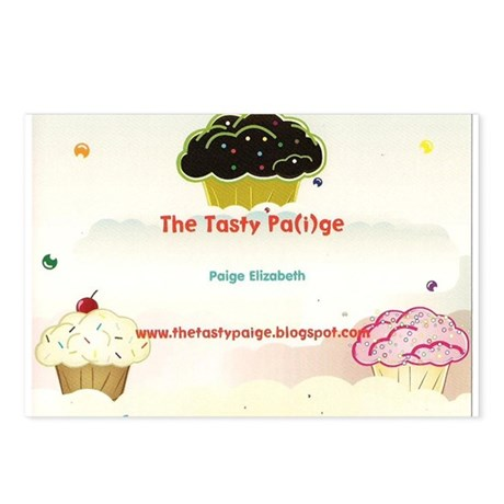 tasty paige postcard Postcards (Package of 8)