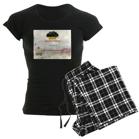 tasty paige postcard Women's Dark Pajamas