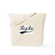 Ryde - Vintage Tote Bag