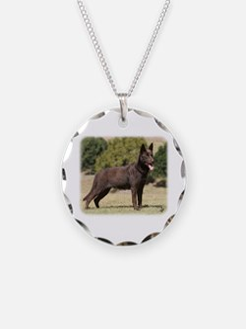 Australian Kelpie 9Y641D-151 Necklace
