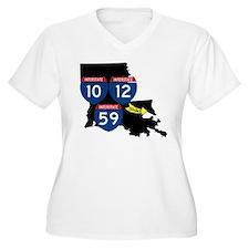 Interstates 10/12/59 Slidell Louisiana T-Shirt